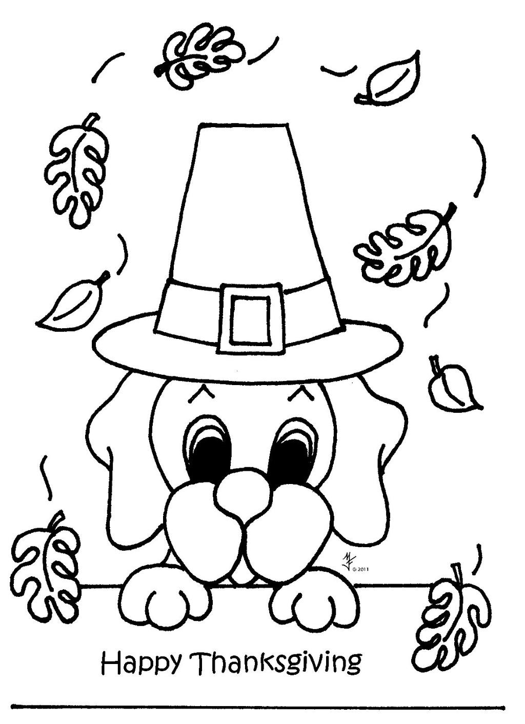 Free Happy November Coloring Pages printable