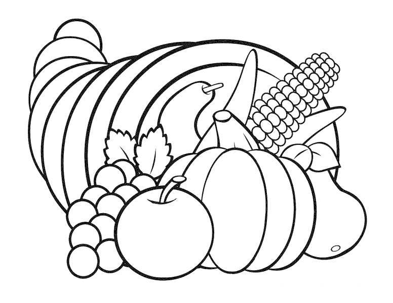 Free November Coloring Pages Happy Thanksgiving printable