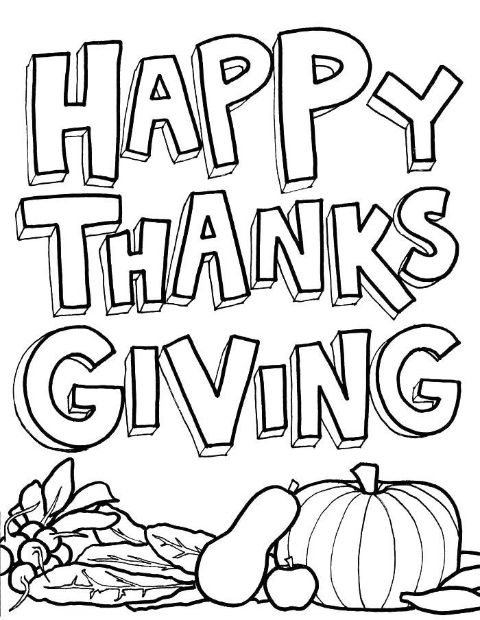 Free November Coloring Pages for Preschool printable