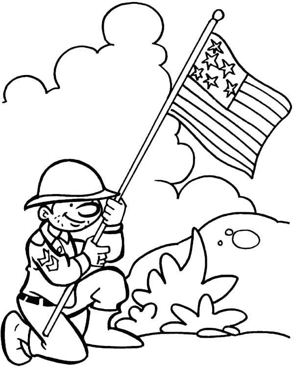 Printable Veterans Day Coloring