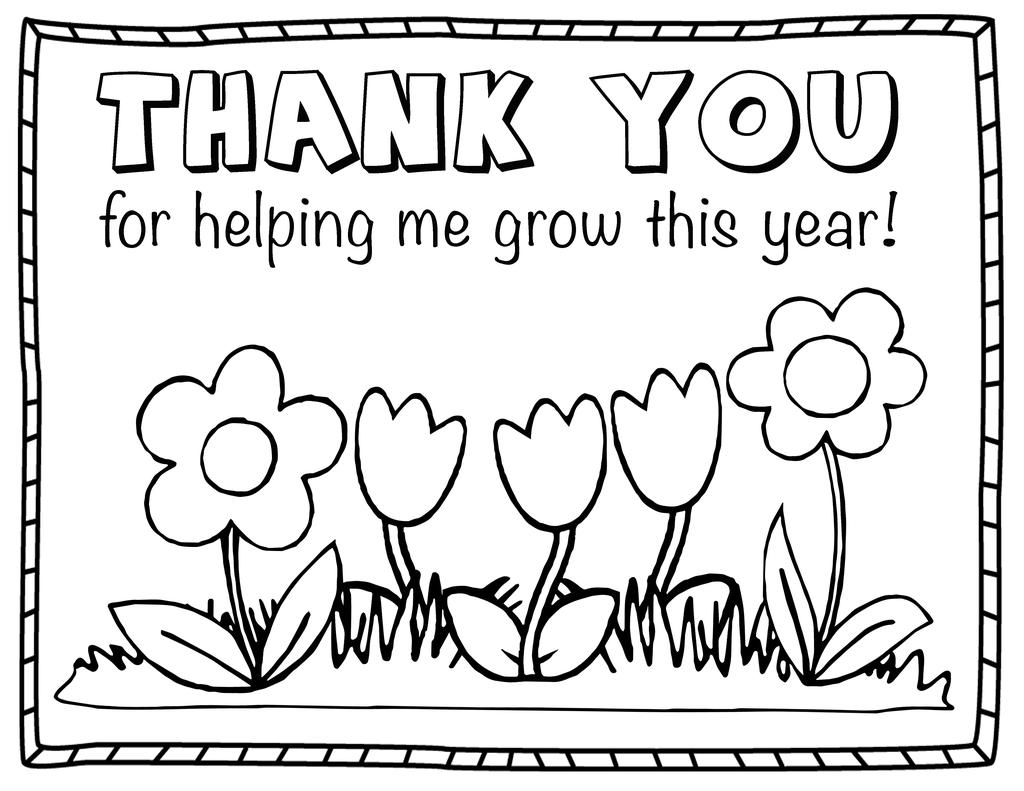 Free Cards of Thank You For Your Service Coloring Pages printable