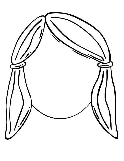 Free Face of Black Girl Coloring Pages printable
