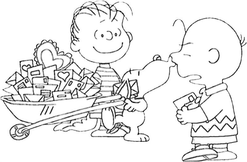 Free Free Charlie Brown Thanksgiving Coloring Pages printable
