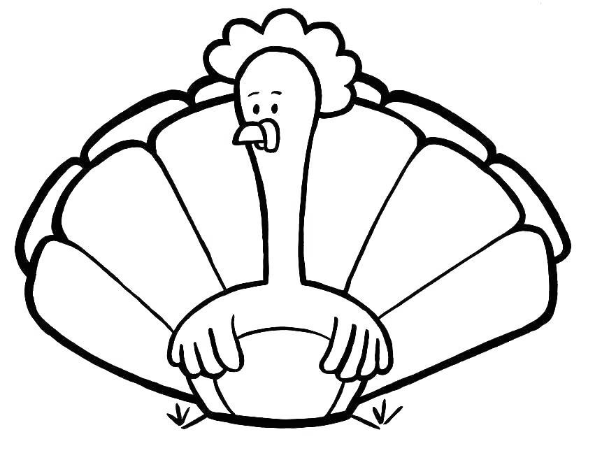 Free Free Turkey Coloring Pages Funny Turkey printable
