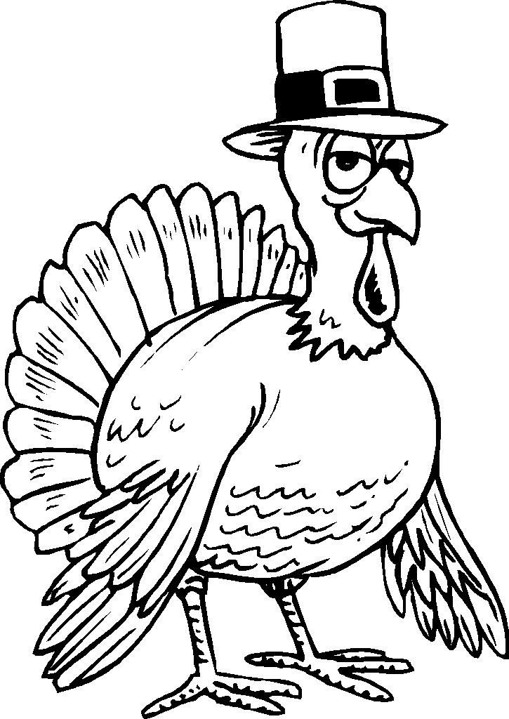Free Free Turkey Coloring Pages Sketch printable