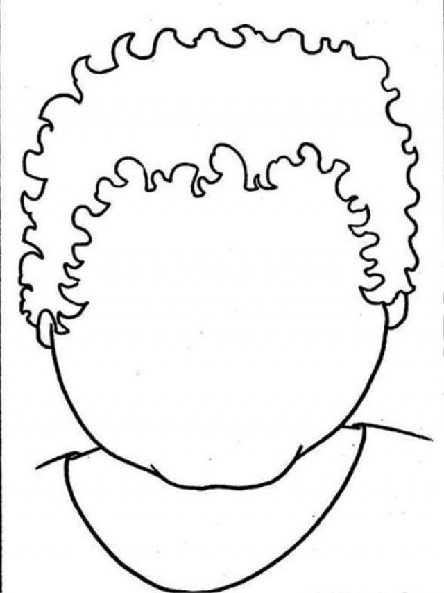 Free Short Hair Black Girl Coloring Pages printable