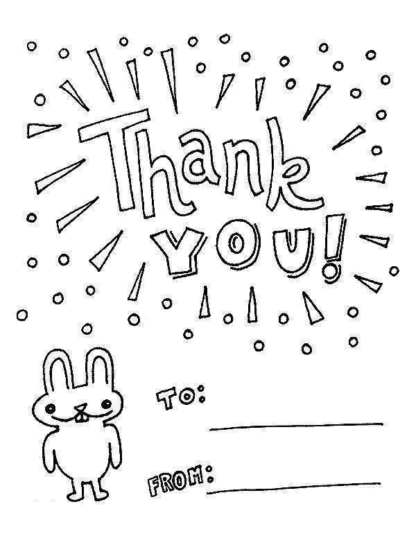 Free Thank You For Your Service Coloring Pages Cards Template printable