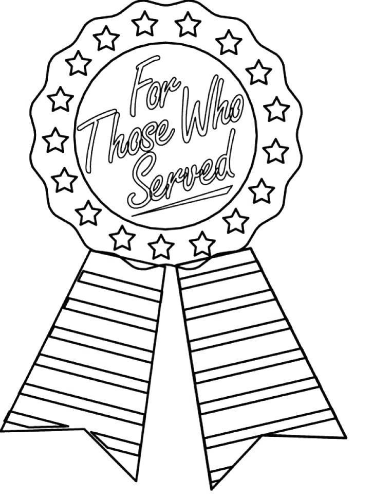 Free Thank You For Your Service Coloring Pages For Those Who Served printable
