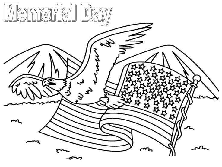 Free Thank You For Your Service Coloring Pages Memorial Day Activities printable