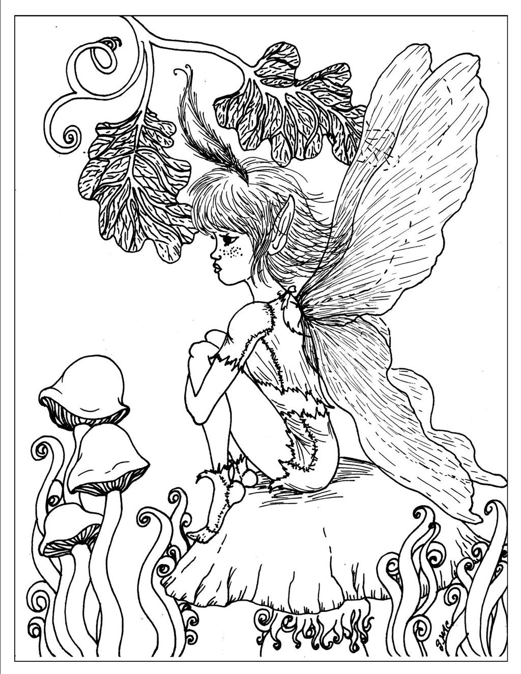 Free Evle with Wings Coloring Pages printable