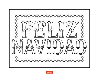 feliz navidad coloring pages happy christmas  free printable coloring pages