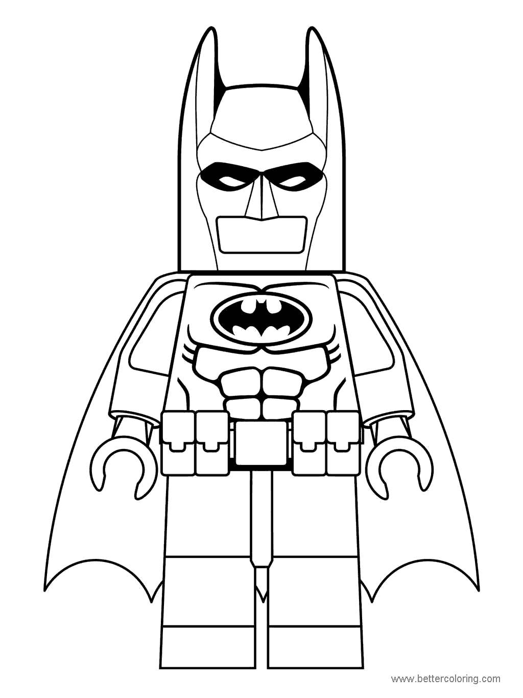 Free Free Lego Batman Movie Coloring Pages printable