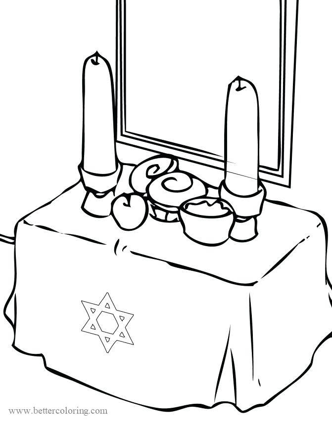 Free Holiday Dreidel Coloring Pages printable