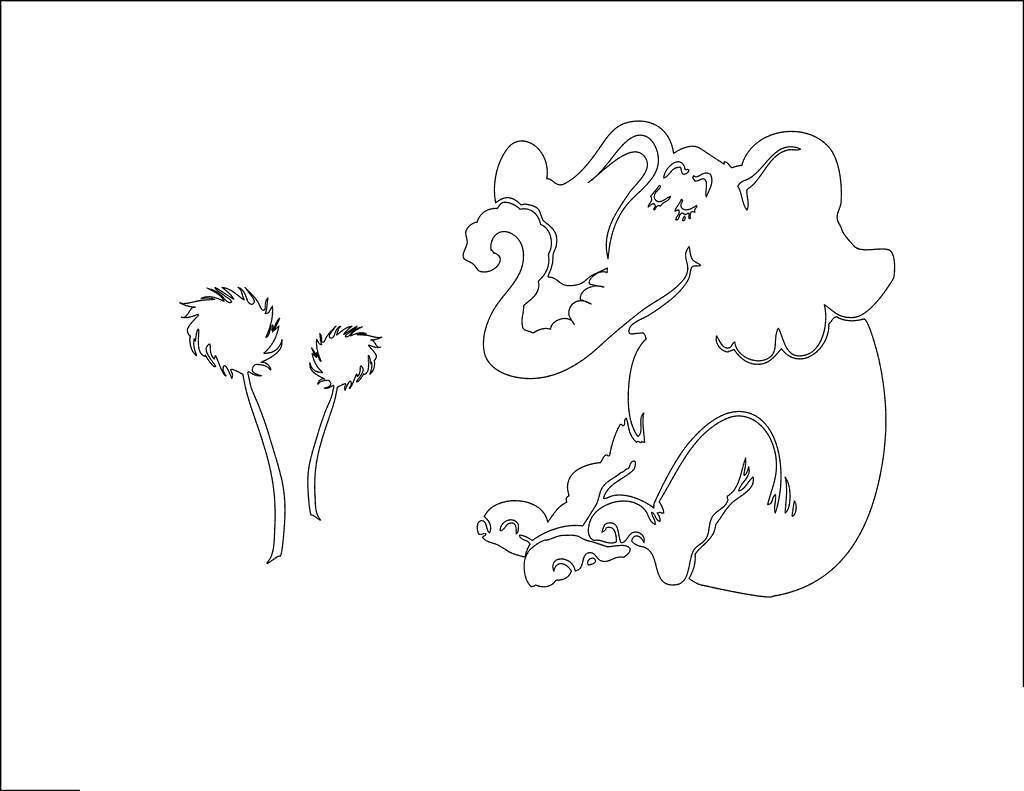 Free Horton Hears A Who Whoville Coloring Pages printable