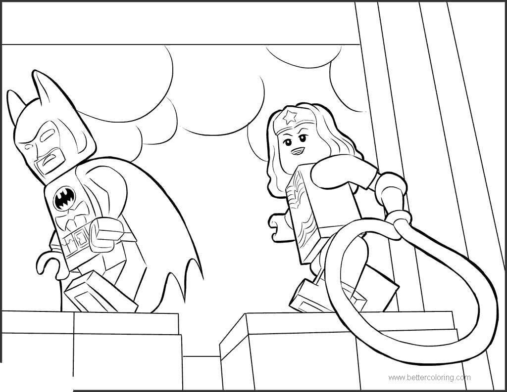 Free Lego Movie Lego Batman Coloring Pages printable