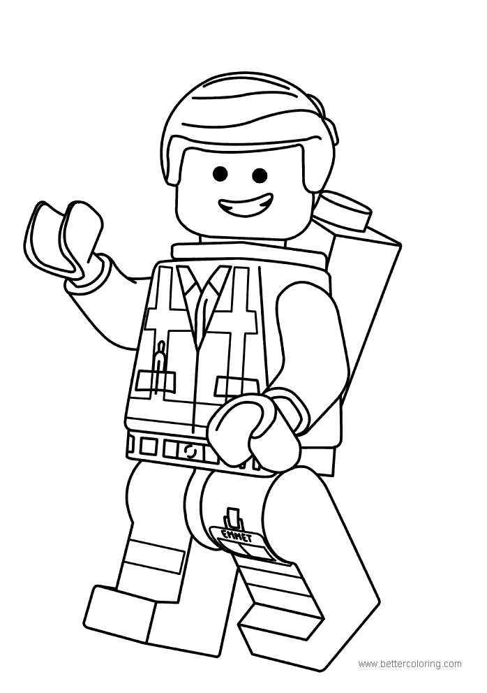 Free Lego Movie Unikitty Coloring Pages for Boy printable