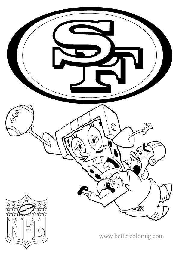 Free 49ers Coloring Pages printable