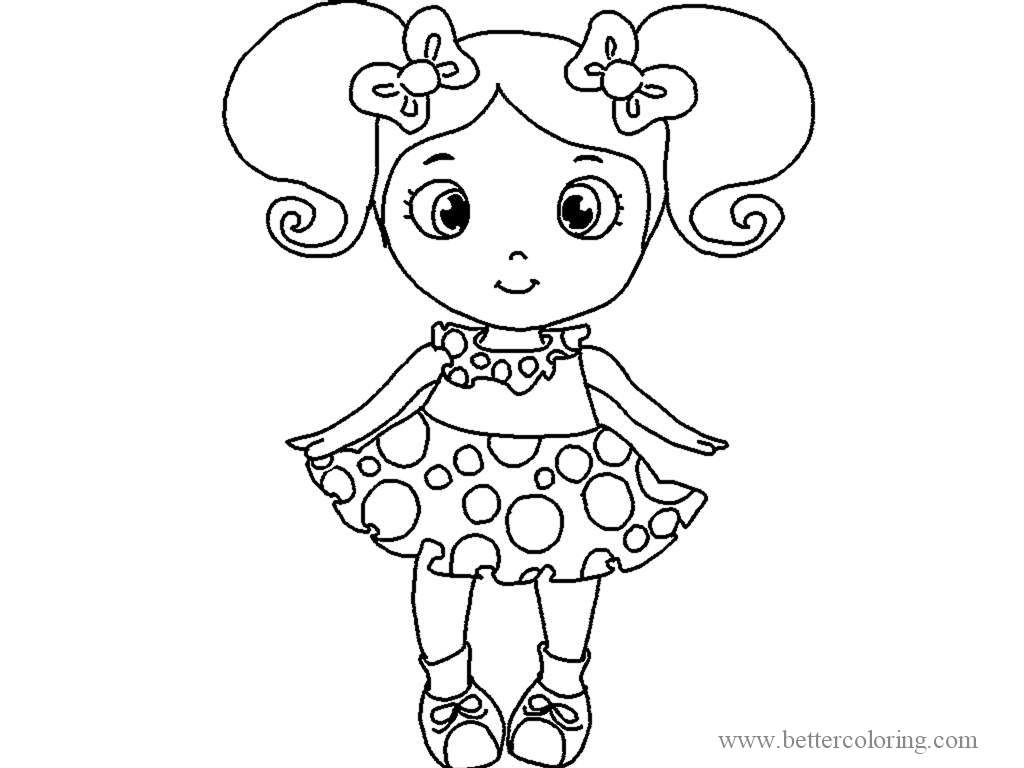 Free Draw So Cute Coloring Pages printable