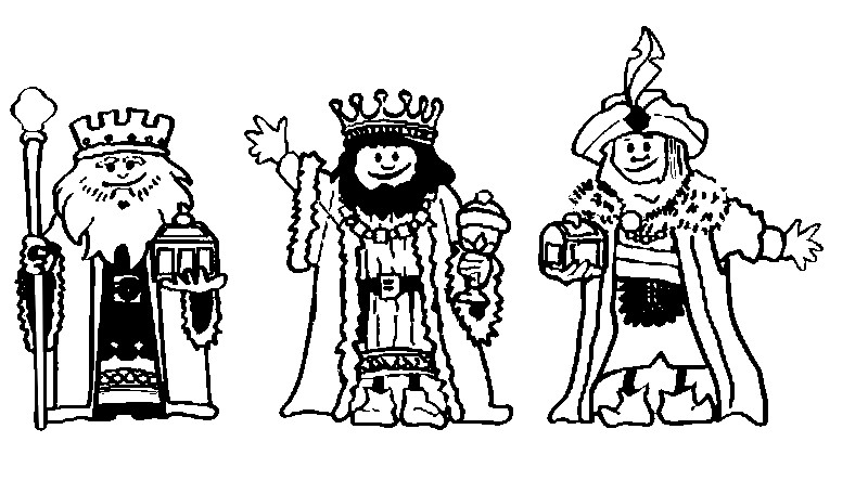 Free Epiphany Coloring Pages for Kids printable