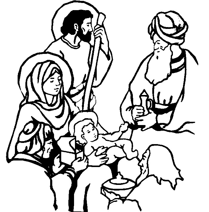 Epiphany and Jesus Coloring Pages - Free Printable ...
