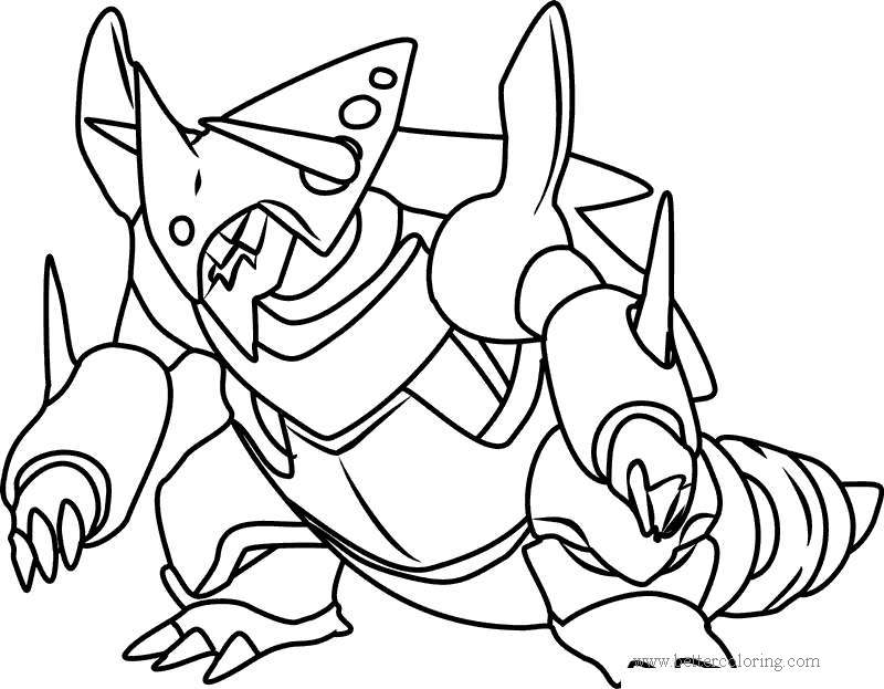 Mega Ultra Beast Pokemon Coloring Pages - Free Printable ...