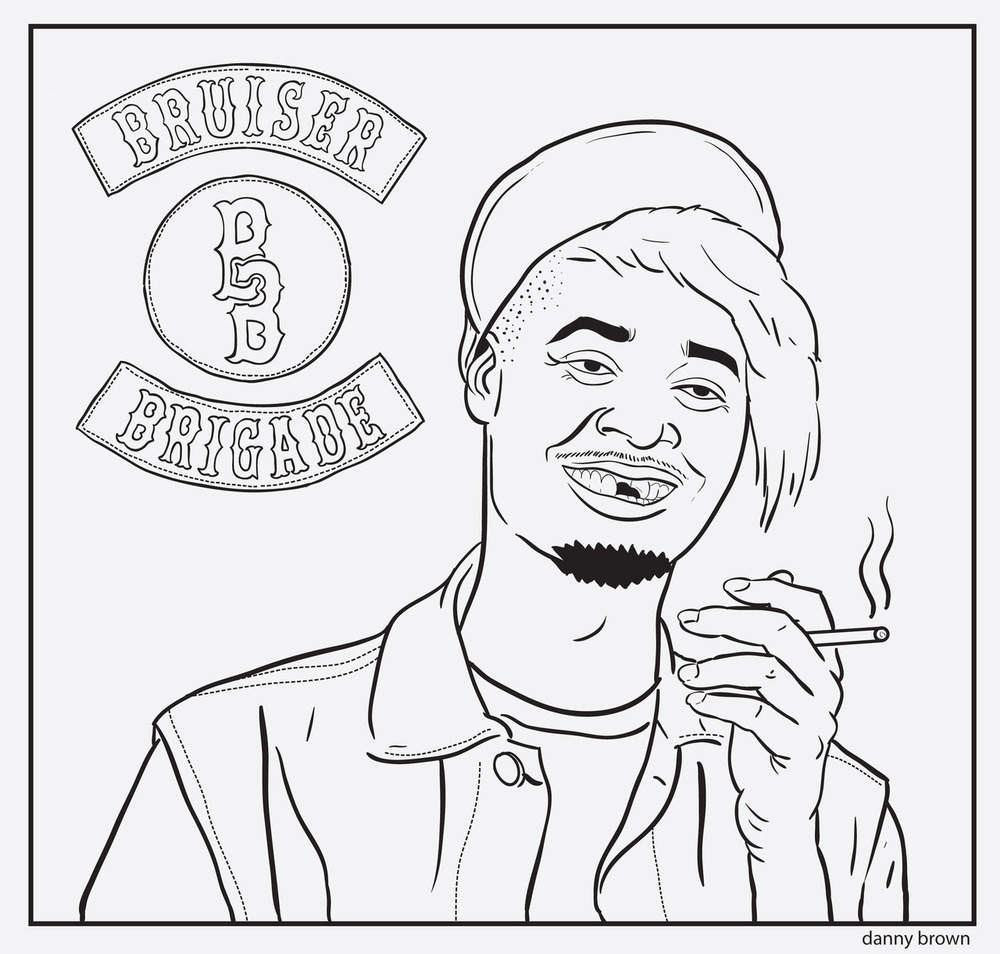 Free Rapper Tyler Coloring Pages printable